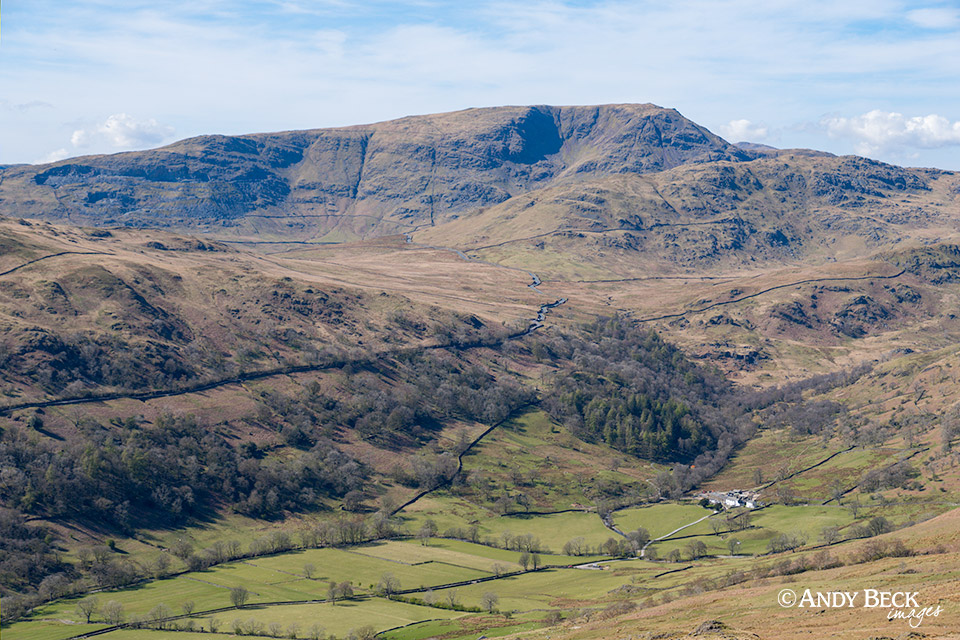 Red Screes from Sour Howes