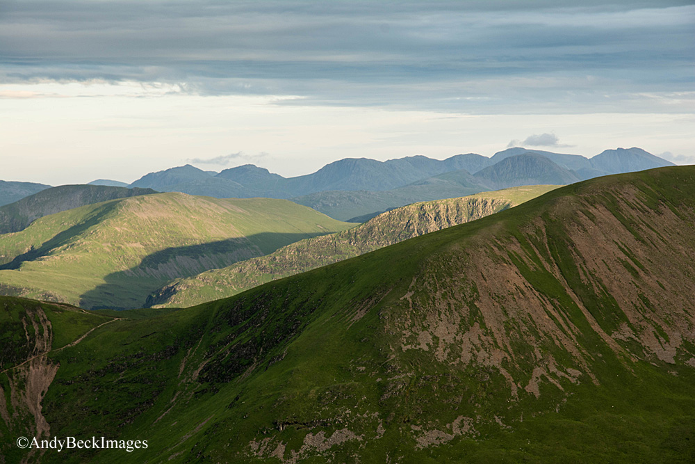 Scafells over Sail