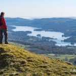 Looking down on Windermere from Sour Howes