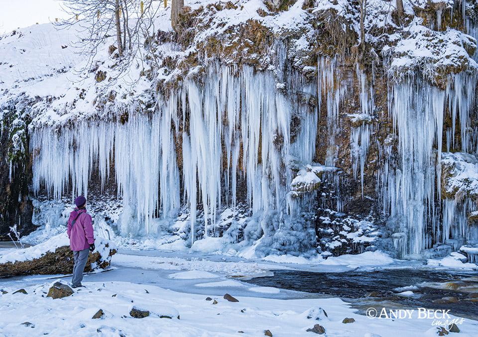 Teesdale calendar 2022 icicles